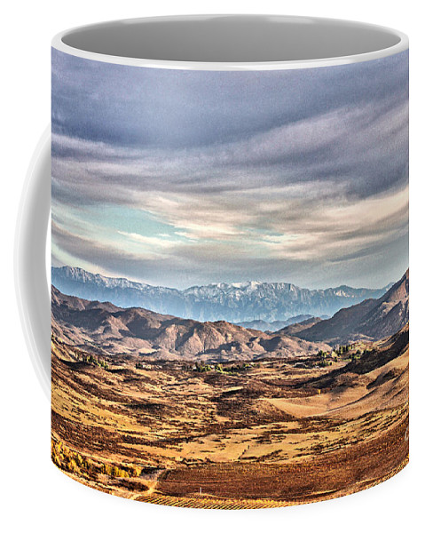 Temecula Coffee Mug featuring the photograph Temecula Landscape by Stefan H Unger