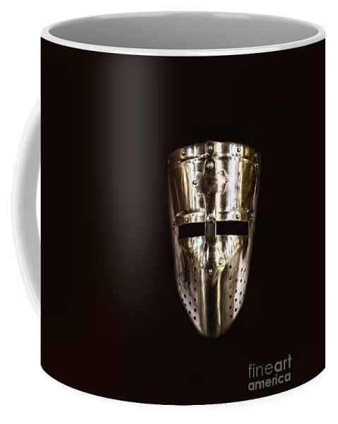 Helmet Coffee Mug featuring the photograph Templar by Margie Hurwich