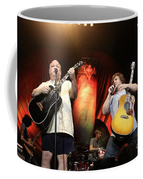 Songwriter Coffee Mug featuring the photograph Tenacious D - Kyle Gas And Jack Black by Concert Photos