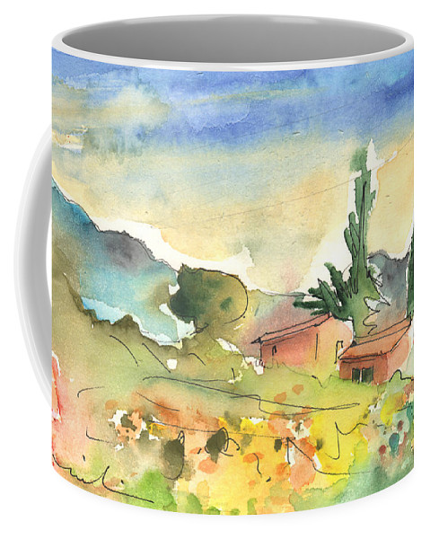 Coffee Mug featuring the painting Tenerife Landscape 01 by Miki De Goodaboom