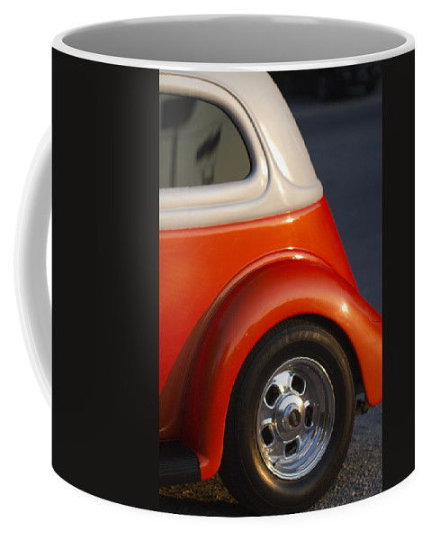 Tennessee Coffee Mug featuring the photograph Tennessee Vols Fan Displaying The Colors Proudly by Kathy Clark