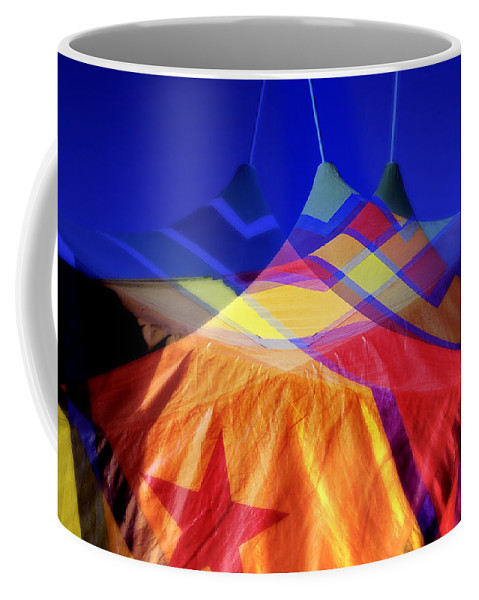 Tent Coffee Mug featuring the photograph Tent Of Dreams by Wayne Sherriff