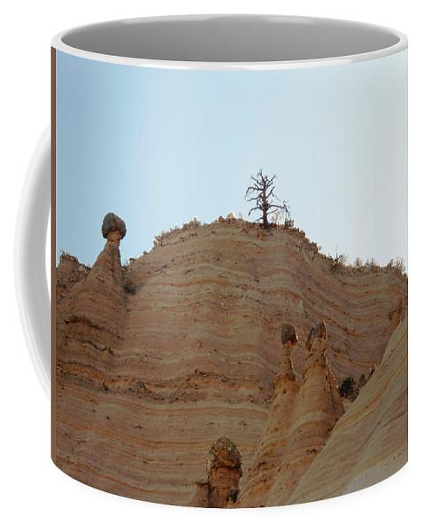 Tent Rocks Coffee Mug featuring the photograph Tent Rocks 11 by Lovina Wright