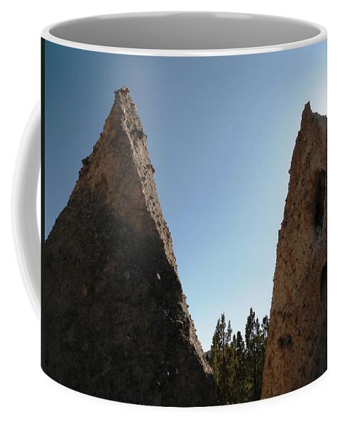 Tent Rocks Coffee Mug featuring the photograph Tent Rocks 14 by Lovina Wright