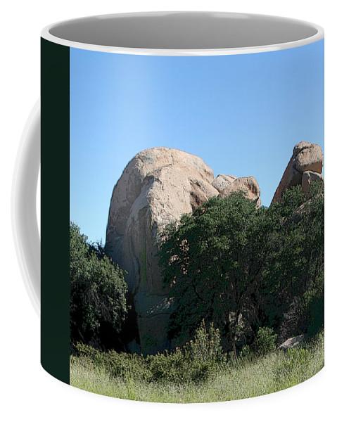 Texas Canyon Coffee Mug featuring the photograph Texas Canyon Megaliths by Joe Kozlowski