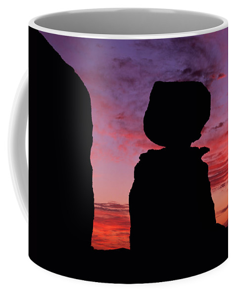 Arizona Coffee Mug featuring the photograph Texas Canyon Sunset by Tom Daniel