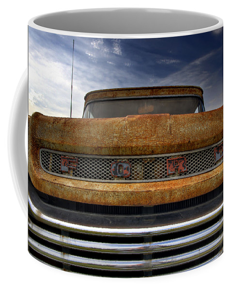 Ford Truck Coffee Mug featuring the photograph Textured Ford Truck 2 by Thomas Young