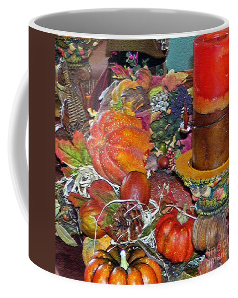 Thanksgiving Remembrance Coffee Mug featuring the photograph Thanksgiving Remembrance by Lydia Holly
