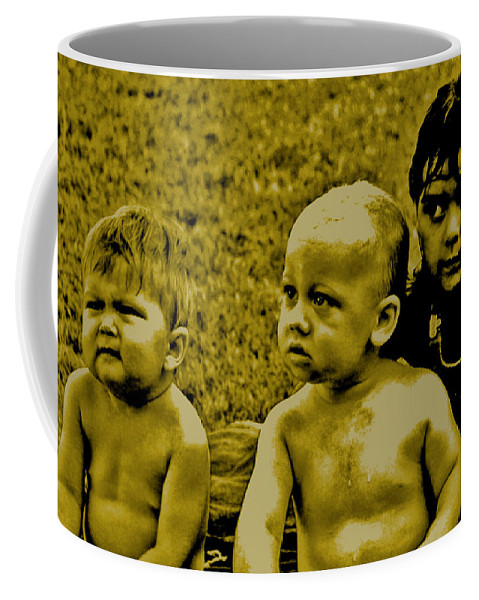 Humor Coffee Mug featuring the digital art That Is Hard To Believe by Joseph Coulombe