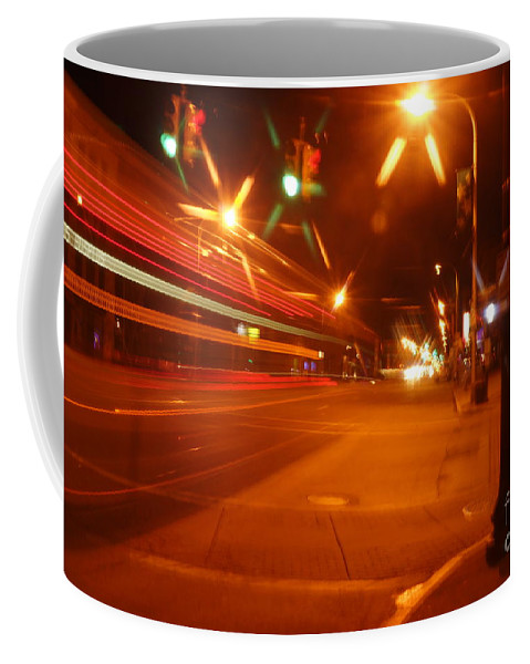 Motion Coffee Mug featuring the photograph The 905 by Jeffery L Bowers