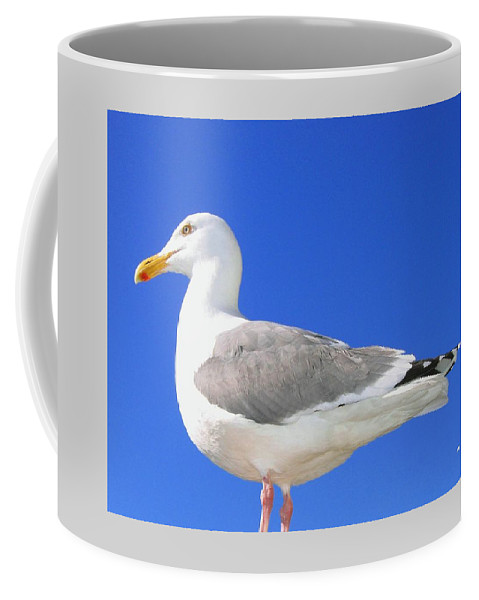The Admiral Coffee Mug featuring the photograph The Admiral by Will Borden