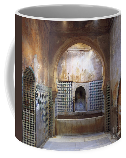 The Alhambra Coffee Mug featuring the photograph The Alhambra by Guido Montanes Castillo
