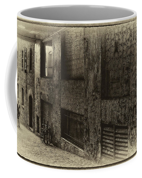 Post Alley Coffee Mug featuring the photograph The Alibi Room - Seattle by David Patterson