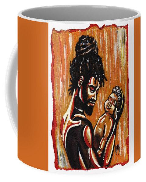 Artbyria Coffee Mug featuring the photograph The apple of his Eye by Artist RiA