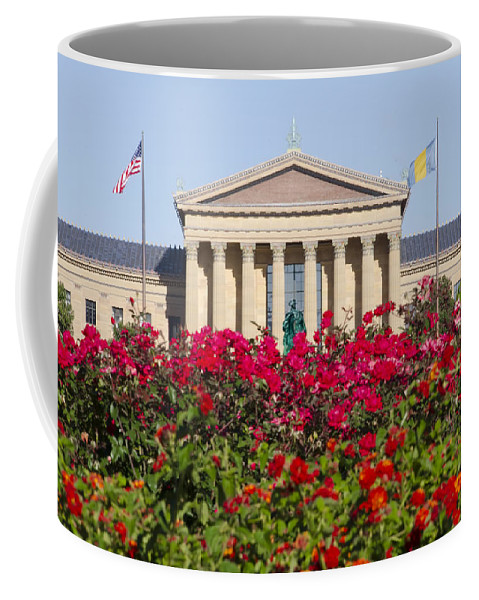 Art Coffee Mug featuring the photograph The Art Museum In Summer by Bill Cannon