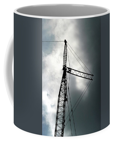 Clouds Coffee Mug featuring the photograph The Arts by Joseph Yarbrough