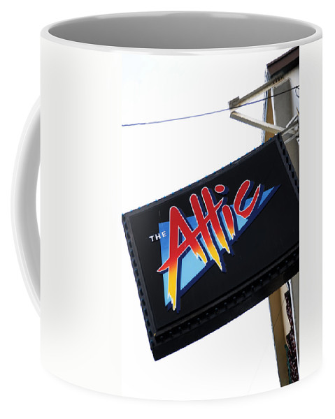 The Attic Coffee Mug featuring the photograph The Attic Myrtle Beach Sc by Bob Pardue