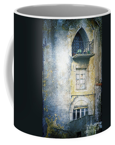 Window Coffee Mug featuring the photograph The Balcony Scene by Heiko Koehrer-Wagner