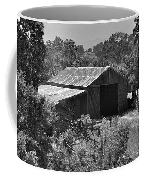 Rustic Coffee Mug featuring the photograph The Barn 2 by Richard J Cassato