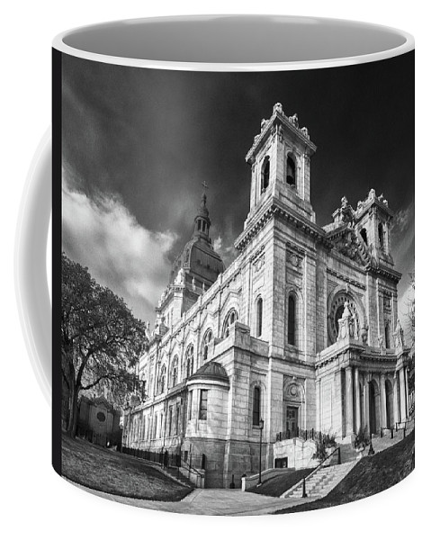Buildings Coffee Mug featuring the photograph The Basilica Of St Mary by Guy Whiteley