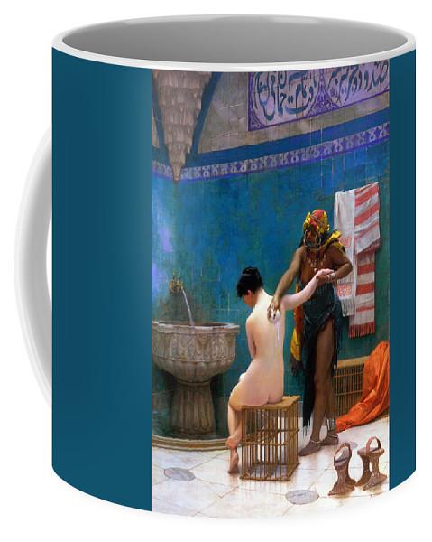 Bath Coffee Mug featuring the photograph The Bath by Munir Alawi