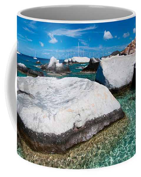 3scape Coffee Mug featuring the photograph The Baths by Adam Romanowicz