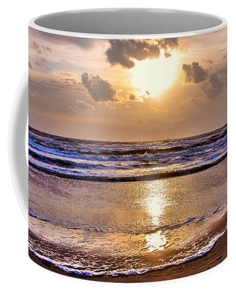 Sky Coffee Mug featuring the photograph The Beach Part 2 by Alex Hiemstra