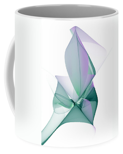 Abstract Coffee Mug featuring the digital art The Beauty by Gabiw Art