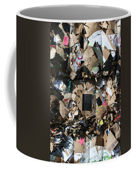 Trash Coffee Mug featuring the photograph The Beauty Of Recycling by Ric Bascobert
