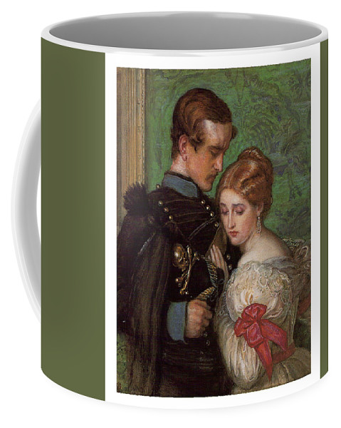 John Everett Millais Coffee Mug featuring the painting The Black Brunswicker by Celestial Images