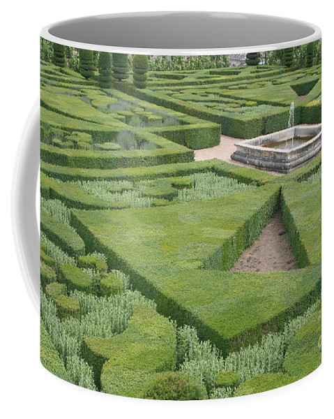 Boxwood Coffee Mug featuring the photograph The Boxwood Garden At Chateau Villandry by Christiane Schulze Art And Photography