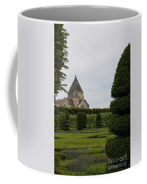 Boxwood Coffee Mug featuring the photograph The Boxwood Garden - Villandry by Christiane Schulze Art And Photography