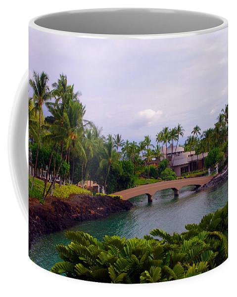 Hawaii Coffee Mug featuring the photograph The Bridge by John Dauer