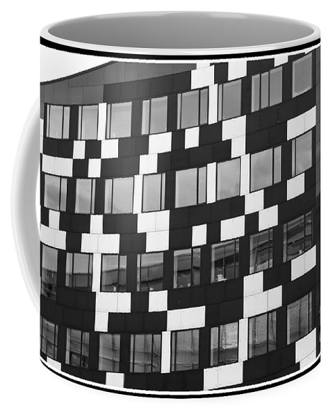 The Building Coffee Mug featuring the photograph The Buildilng by Victoria Harrington