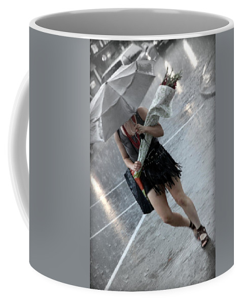 Bunch Coffee Mug featuring the photograph The Bunch And The Rain by Valentino Visentini