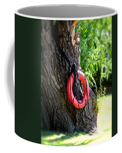 Buoy Coffee Mug featuring the photograph The Buoy by Debbie Nobile