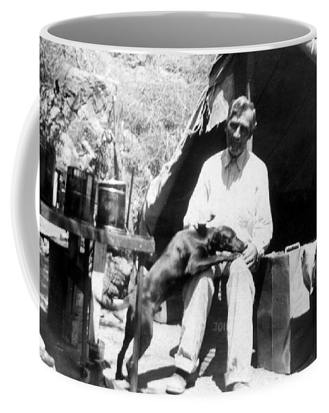 Arizona Coffee Mug featuring the photograph The Camp by Larry Ward