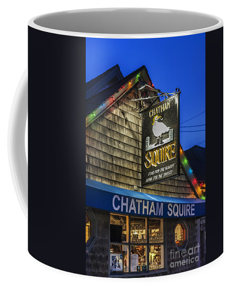 Business Coffee Mug featuring the photograph The Chatham Squire by John Greim