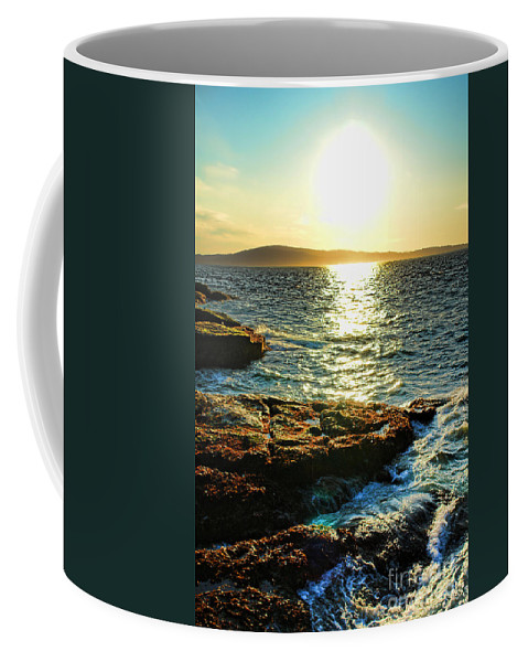Maine Coffee Mug featuring the photograph The Coast Of Maine by Olivier Le Queinec