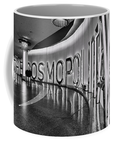 Cosmopolitan Hotel Coffee Mug featuring the photograph The Cosmopolitan Hotel Las Vegas By Diana Sainz by Diana Raquel Sainz