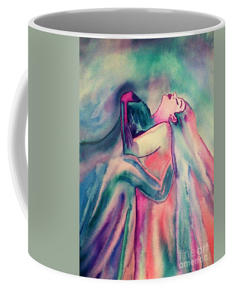 Couple Coffee Mug featuring the painting The Couple Image 4 by Melissa Darnell Glowacki