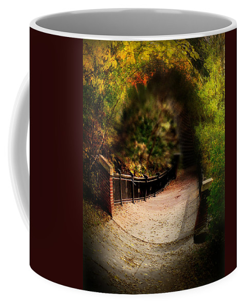 Landscape Coffee Mug featuring the photograph The Crossing by John Anderson
