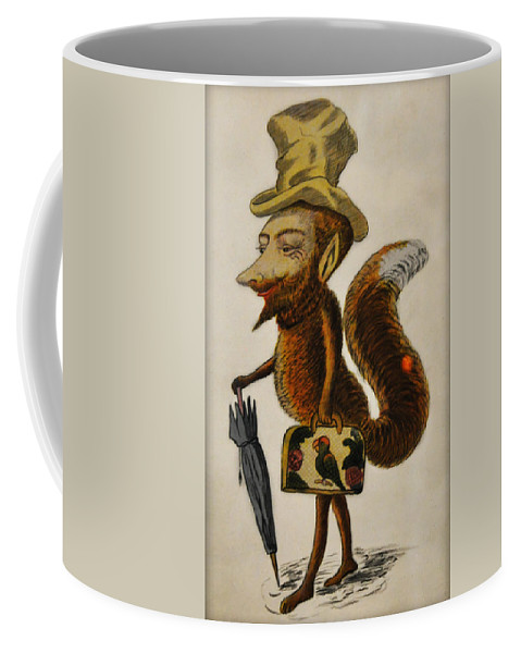 Cunning Coffee Mug featuring the photograph The Cunning Fox by Bill Cannon