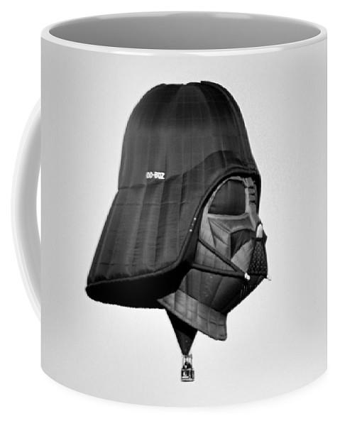 Sports Coffee Mug featuring the photograph The Dark Side by AJ Schibig