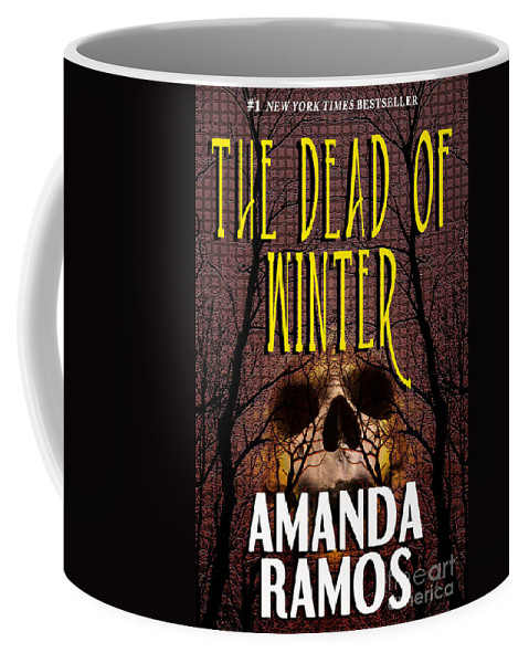 Book Cover Design Coffee Mug featuring the photograph The Dead Of Winter by Mike Nellums