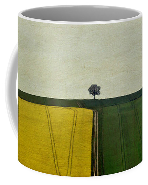 Yorkshire Coffee Mug featuring the photograph The Dimensionless Monologue by Evelina Kremsdorf