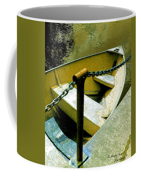 Boat Coffee Mug featuring the photograph The Dinghy Image C by Lee Owenby
