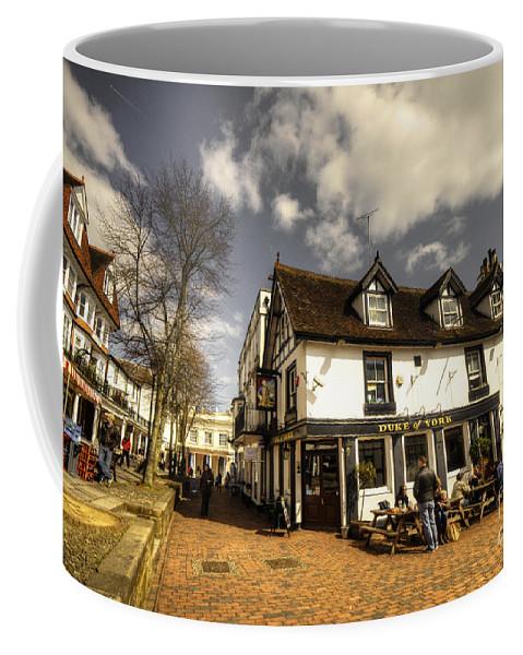 Pantiles Coffee Mug featuring the photograph The Duke Of York by Rob Hawkins