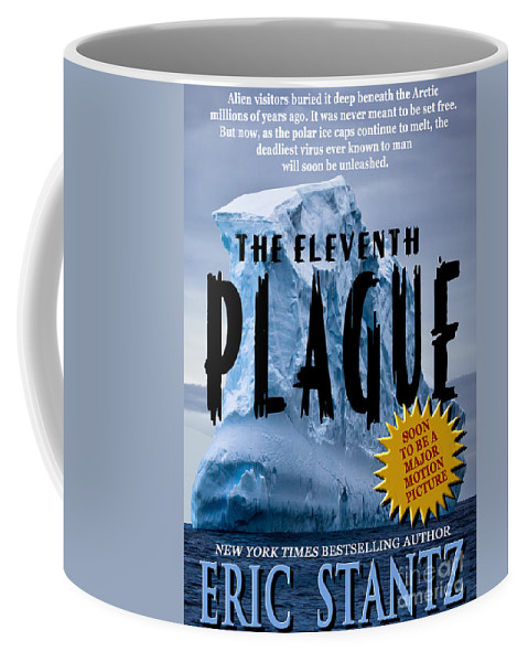Book Cover Coffee Mug featuring the photograph The Eleventh Plague Bookcover by Mike Nellums
