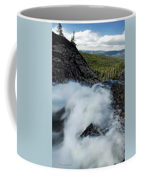 Landscape Coffee Mug featuring the photograph The End Is Near by Donna Blackhall